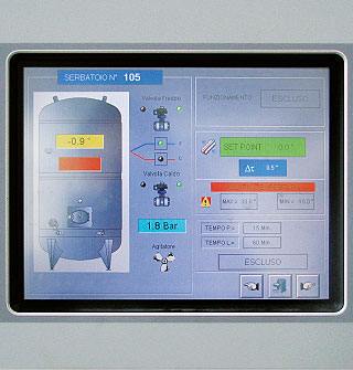 Chemical and food industry production plants automation and management g-control - img07