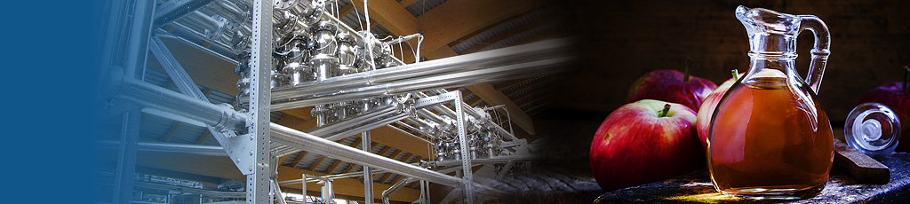 Vinegar production plant industrial systems for vinegar production -header
